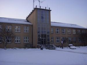 研究室がある建物の正面